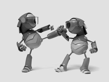 Robot-Karate